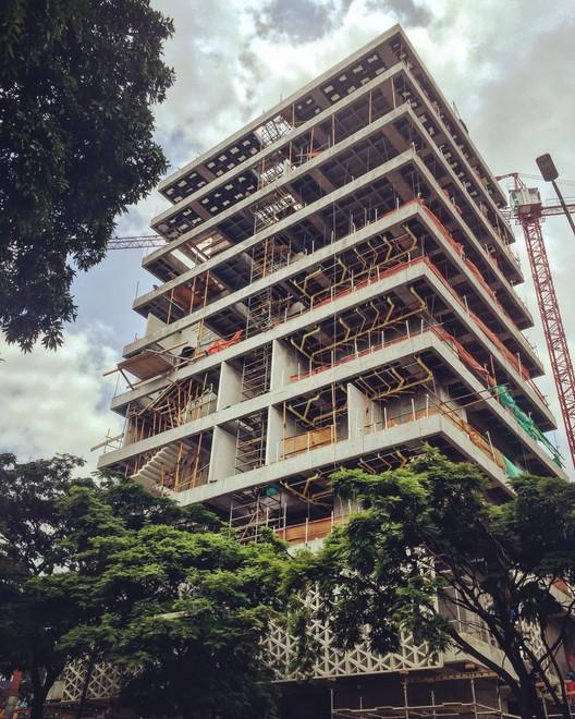 Estado de construcción en Abril de 2016. Image Cortesía de EDU