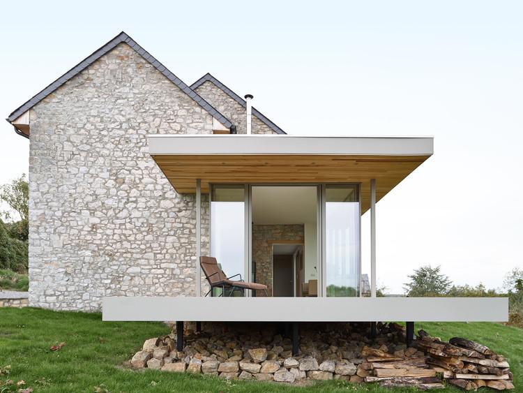 Renovación y extensión de una casa de vacaciones / Dehullu Architecten, © Dennis De Smet