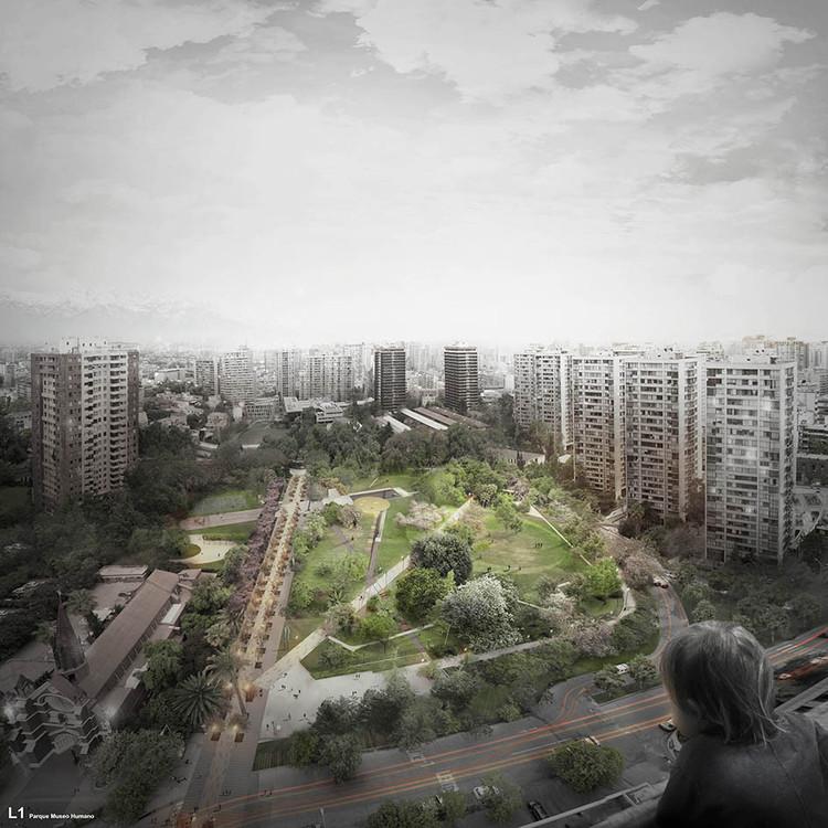 BBATS + TIRADO, Primer Lugar en concurso de diseño del Parque Museo Humano San Borja en Santiago. Image Cortesía de BBATS + TIRADO