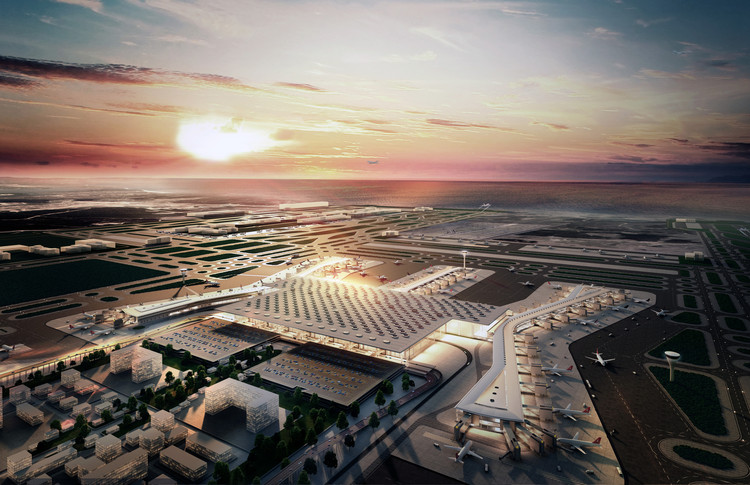 Istanbul New Airport / Scott Brownrigg and Grimshaw, Nordic, Haptic, Fonksiyon, TAM/Kiklop. Imagen cortesía de World Architecture Festival
