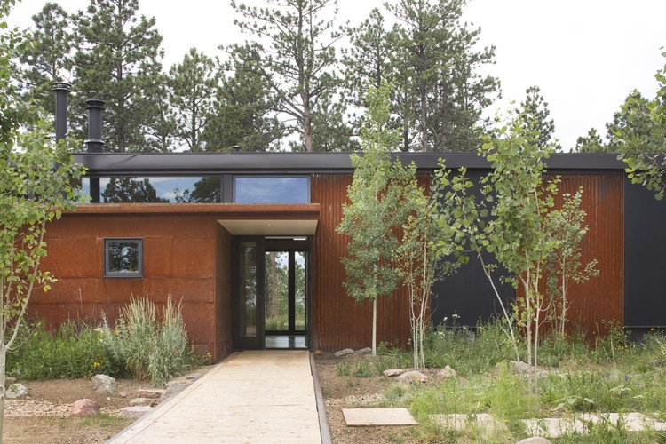 Cabine Boulder Dynia Architects Archdaily Brasil