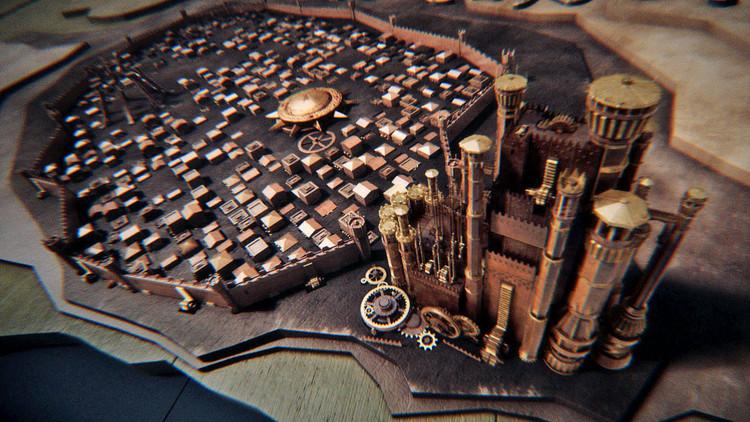 Game of Thrones: política y fundación urbana en ciudades deficción, Kingslanding- Desembarco del Rey. Game of Thrones (2011). Image © HBO