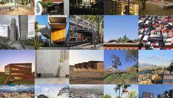 XX Bienal Panamericana de Arquitetura de Quito: Premiados das Categorias Projeto Arquitetônico, Projeto Urbano e Arquitetura Paisagística