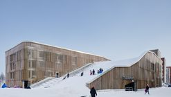 The Parking Garage that Moonlights as a Sledding Slope / White Arkitekter + Henning Larsen Architects