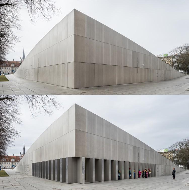 National Museum in Szczecin - Dialogue Centre Przełomy / Robert Konieczny + KWK Promes. Imagen vía World Architecture Festival