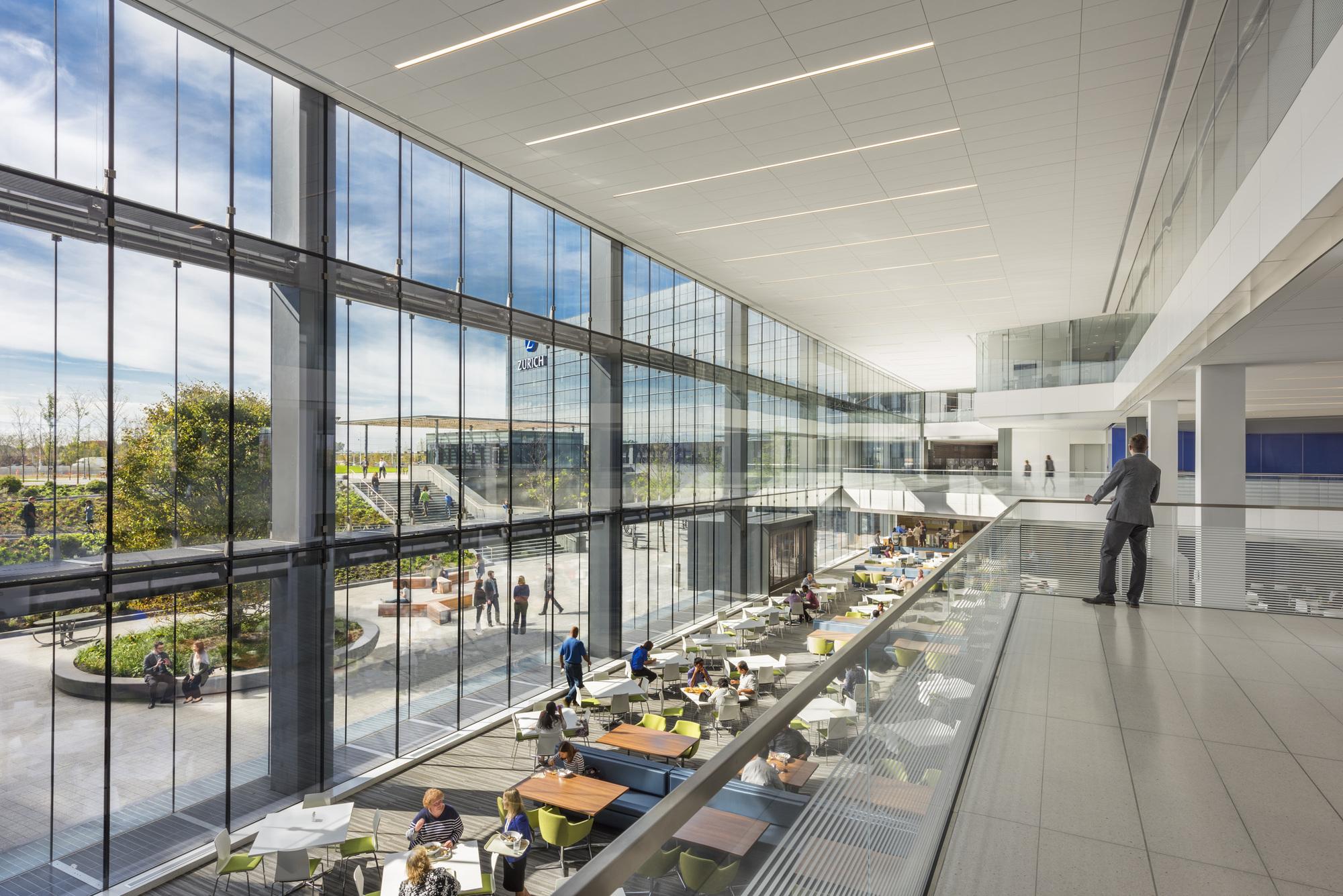 Gallery of zurich north america headquarters goettsch for Architecture zurich