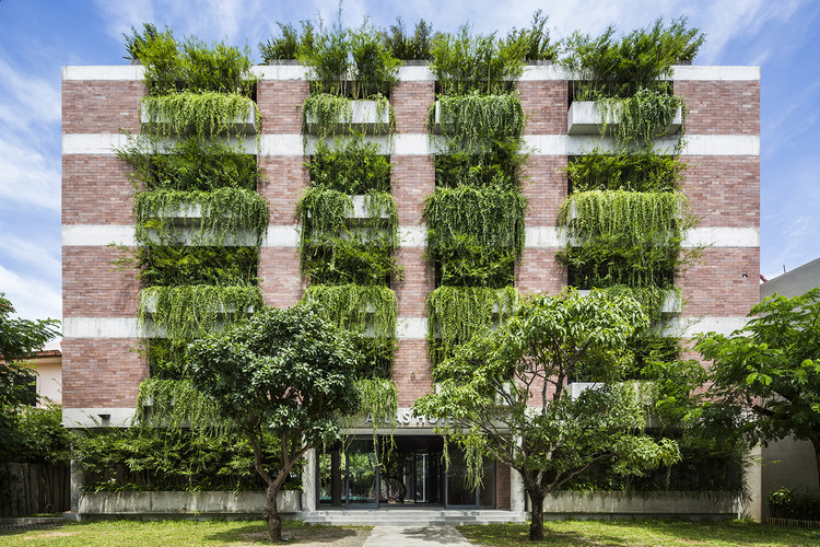 Atlas Hotel Hoian / Vo Trong Nghia Architects, © Hiroyuki Oki