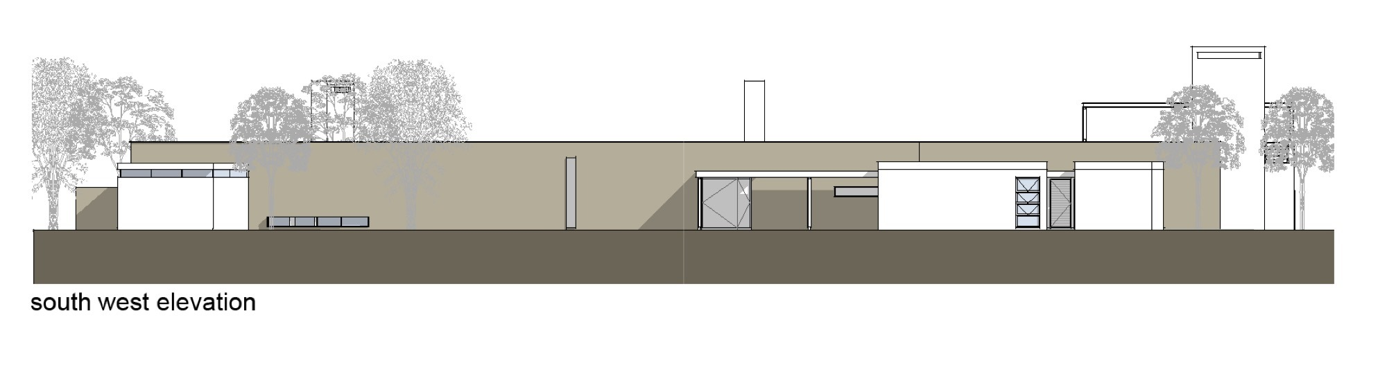 Gallery Of Spine Wall House Drew Architects 18
