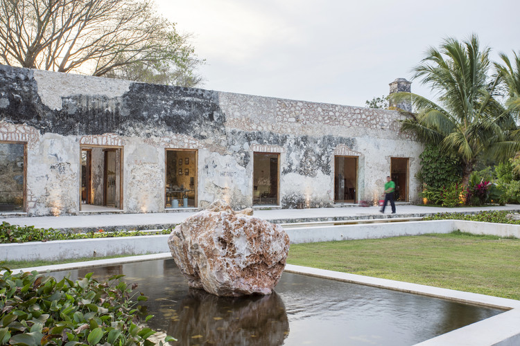 Enfoque Material: Hacienda Niop de AS Arquitectura y R79, © David Cervera