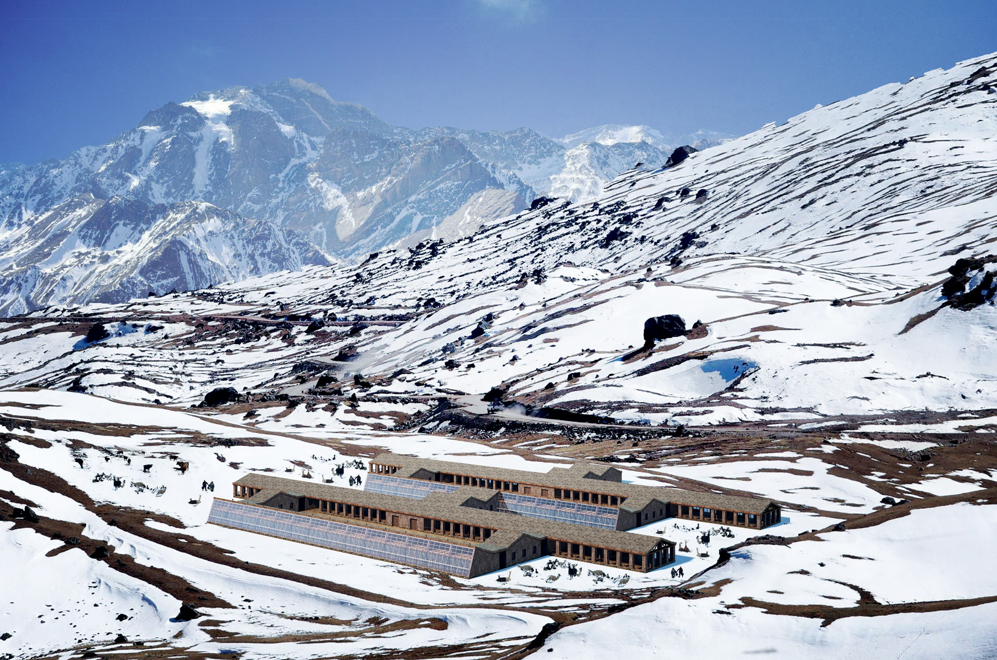 primer lugar concurso urefugios contra el friaje en zonas alto andinasu roberto