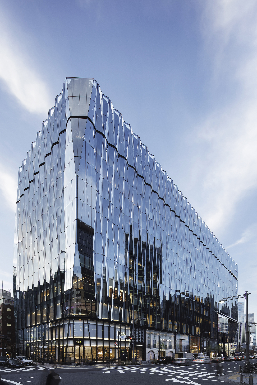 Gallery of tokyu plaza ginza nikken sekkei 8 for Architecture tokyo