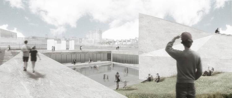 Miguel Casassus + OF Arquitectos ganan concurso para diseñar Museo de la Memoria y Derechos Humanos en Concepción, Chile, Propuesta ganadora del Museo de la Memoria y Derechos Humanos de la región del Biobío. Image Cortesía de Gobierno Regional Biobío / Difusión