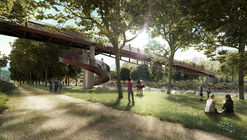 AZPML + DFN Win Competition for Rippling Bridge in Bellinzona, Switzerland