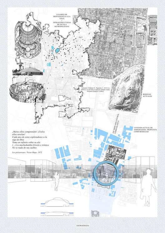 E2 – Pontificia Universidad Católica de Chile / Lámina 01. Image Cortesía de Facultad de Arquitectura USS
