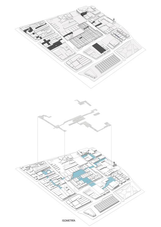 E3 – Pontificia Universidad Católica del Perú / Lámina 02. Image Cortesía de Facultad de Arquitectura USS