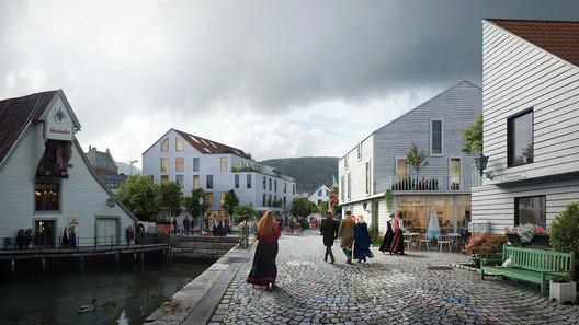 MAD Architects and Asplan Viak Release Feasibility Study for Urban Dock Development in Norway