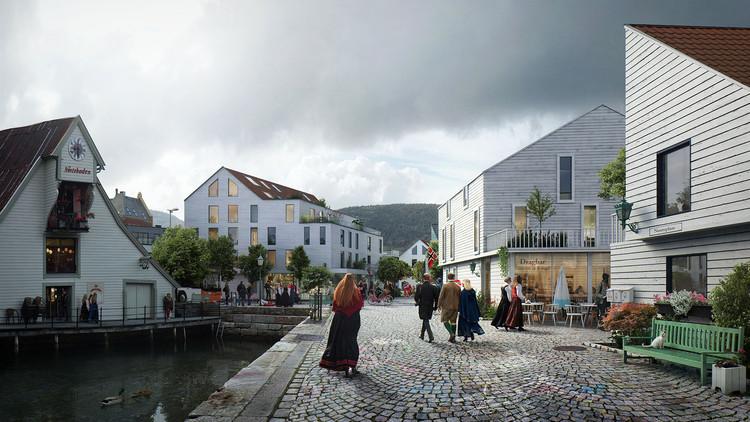 MAD Arkitekter and Asplan Viak Release Feasibility Study for Urban Dock Development in Norway, Courtesy of Mad Arkitekter and Asplan Viak