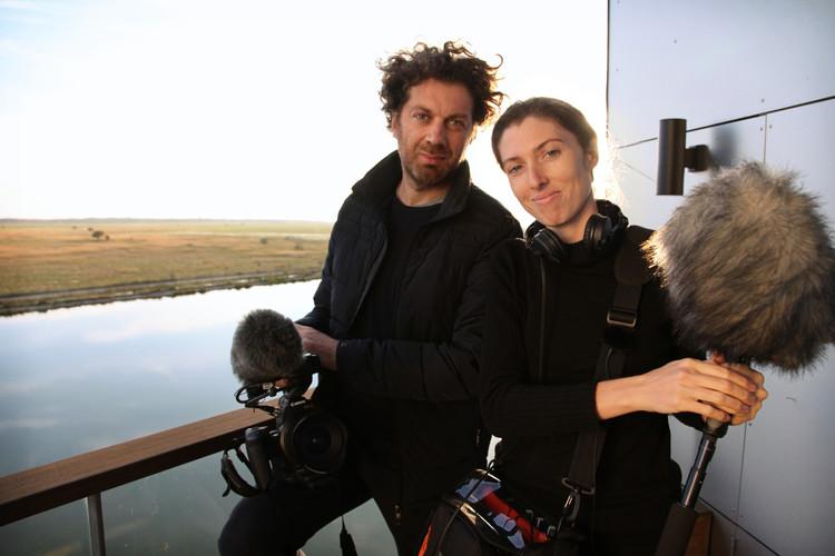 Ila Bêka and Louise Lemoine. Image © Bêka & Partners