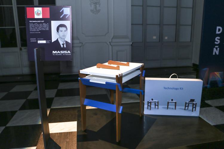 Exposición de primer lugar peruano en concurso internacional Masisa. Image Cortesía de Masisa