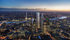 Eric Parry Architects' 72-Story Skyscraper Receives Approval from City of London