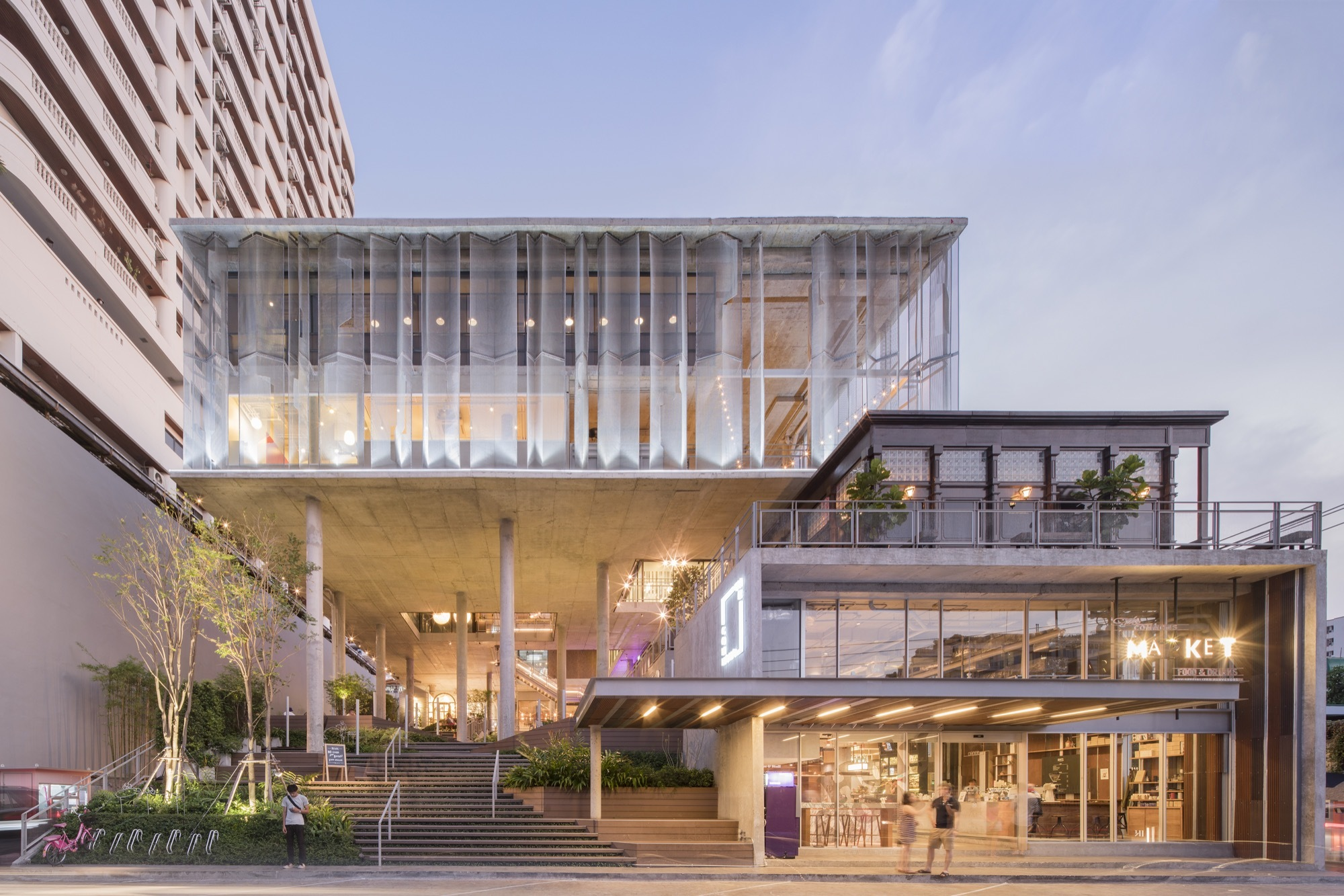The commons department of architecture archdaily for Concept home architecture and engineering