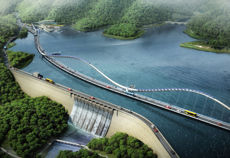 M CO Design Unveils Dragon-Inspired Infrastructural Designs for Hong Kong, Courtesy of M CO Design