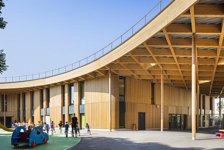 Jules Verne School / archi5, © Sergio Grazia