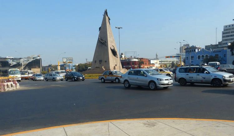 Se descartan [por ahora] baipases de la avenida Salaverry en Lima, ¿Un baipás debajo del óvalo Jorge Chávez?. Image © Claudia Hiromoto