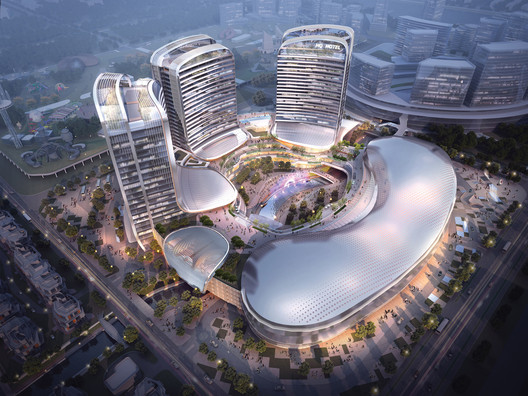 New Mixed-Use Complex Expresses Past, Present, and Future of Chinese Culture