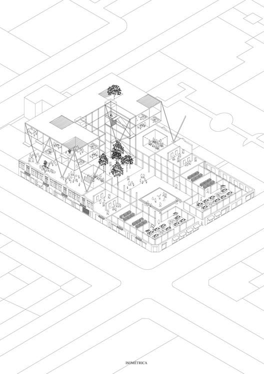 E8 – Universidad San Sebastián – Sede Concepción / Lámina 03. Image Cortesía de Facultad de Arquitectura USS