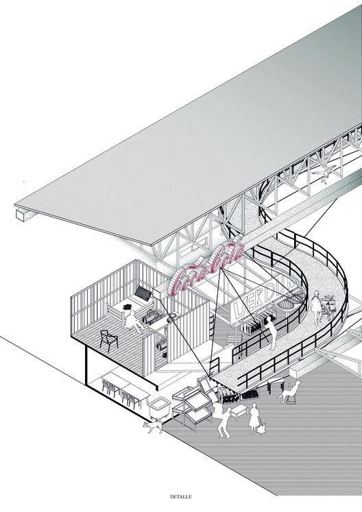 E11 – Universidad de Talca / Lámina 01. Image Cortesía de Facultad de Arquitectura USS