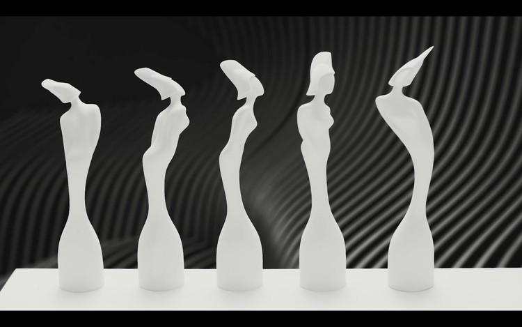 Así serán las estatuillas diseñadas por Zaha Hadid para los BRIT Awards 2017