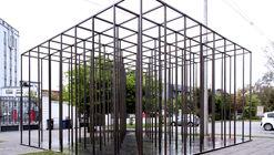 """""""Habitar el vacío"""", una instalación temporal de Josep Ferrando y estudiantes de la UFT en Chile"""