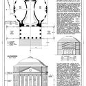 Ground floor plan and elevation of the Rotunda. ImageCourtesy of Wikimedia user Fæ