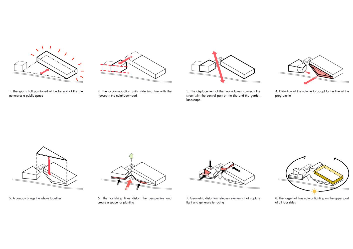 Sample Building Massing Diagram