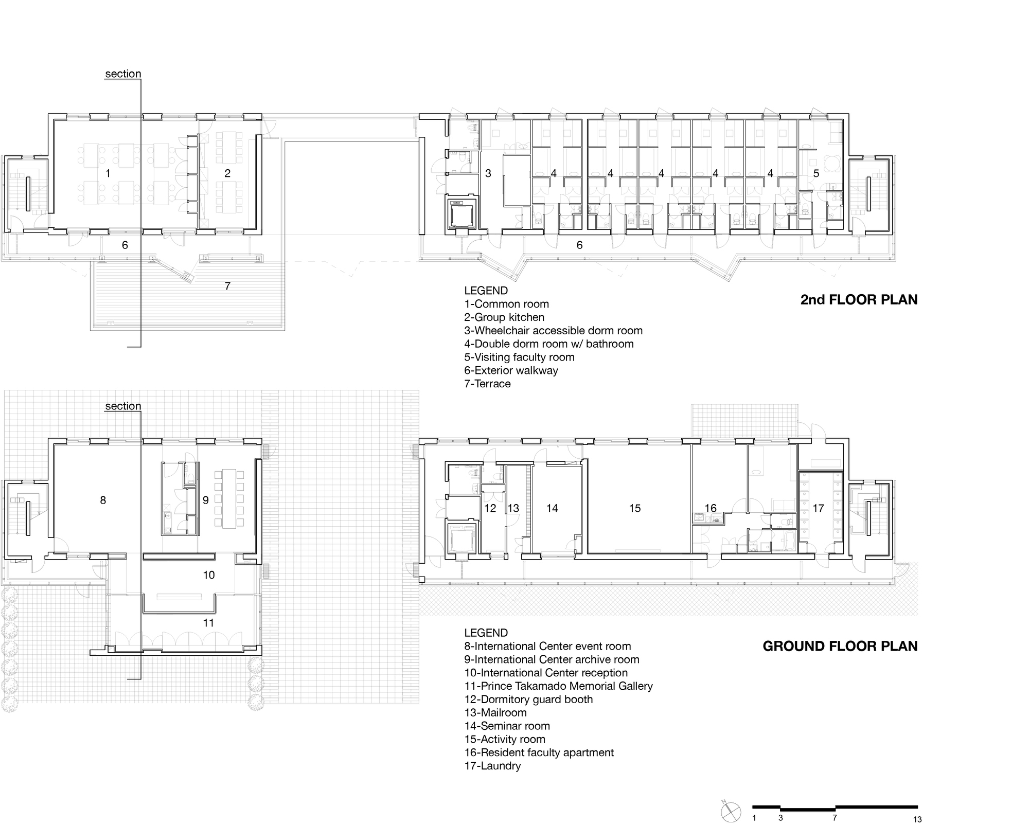 Gallery of ihouse dormitory studio sumo 19 for Architectural plans and permits