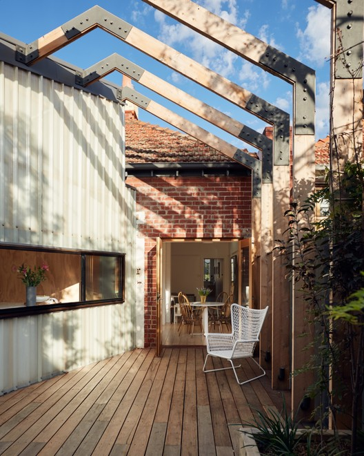 St Kilda East House Claire Scorpo Architects Archdaily