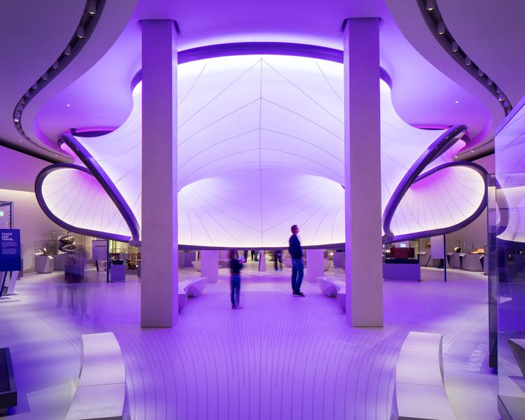 Matemáticas: La Galería Winton  / Zaha Hadid Architects, © Luke Hayes