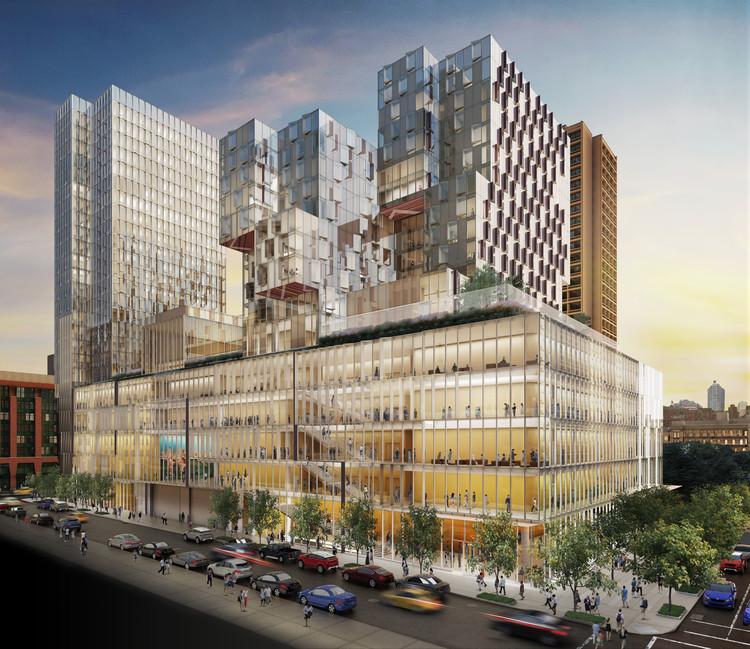 Davis Brody Bond and Kieran Timberlake Unveil Designs for NYU Complex in New York , © llustration: studioAMD