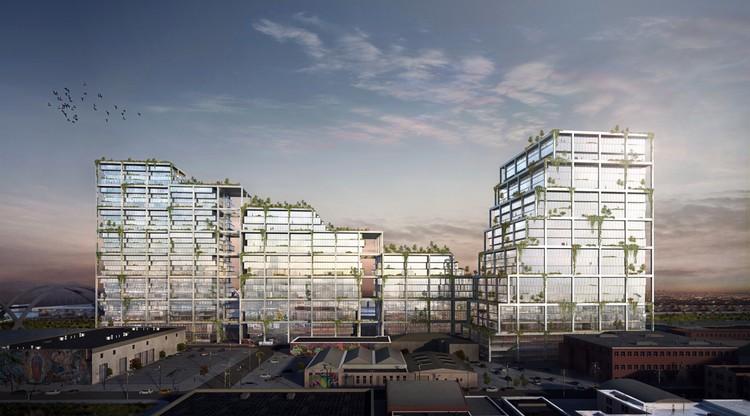 BIG revela su nuevo proyecto para el Distrito de Artes de Los Ángeles, © BIG