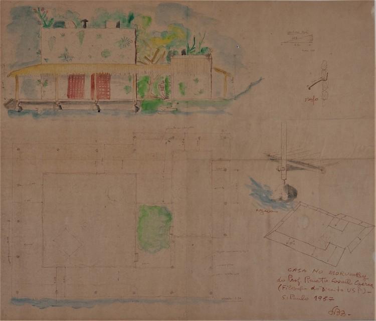 Casa Valéria Cirell. Image Cortesia de Instituto Lina Bo e P. M. Bardi