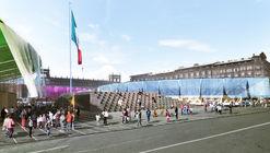Revelan detalles del proyecto ganador 'Pabellón de la Feria de las Culturas Amigas 2017' en Ciudad de México