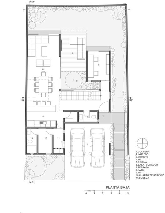 Casa robles atier arquitectura plataforma arquitectura for Casas minimalistas planta baja