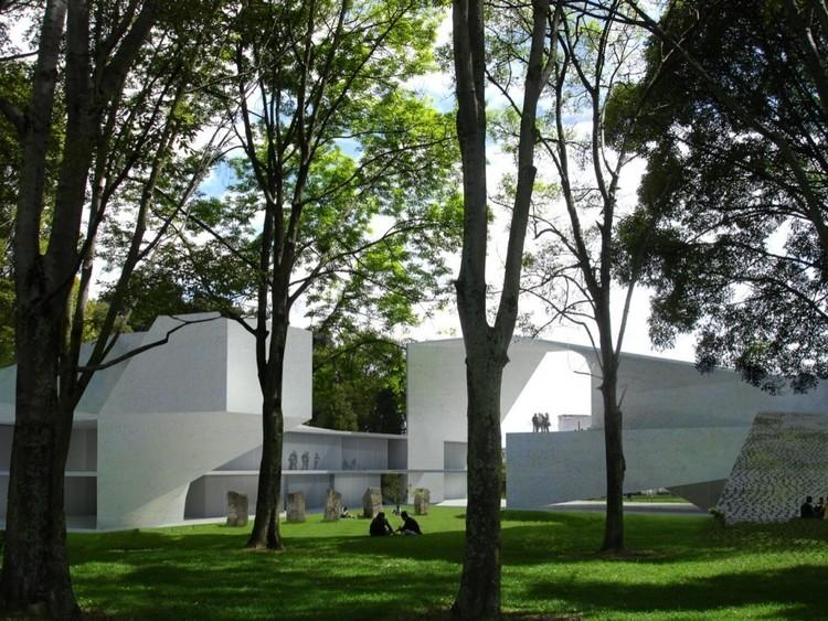 Edificio de Doctorados de las Facultades de Ciencias Económicas, Derecho, Ciencias Políticas y Sociales de la Universidad Nacional / Steven Holl. Image © Steven Holl Architects