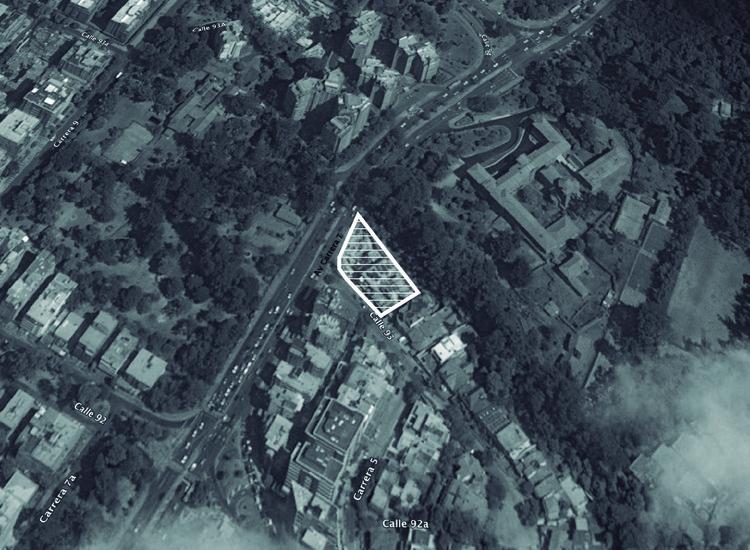 Localización: Vitrum / Richard Meier. Image © Richard Gerald. Imagen base: Google Maps