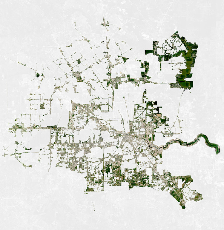Thom Mayne Completes Research on Houston's Urban Future, Courtesy of University of Houston