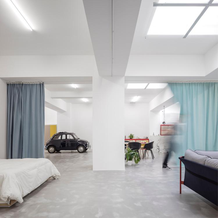 Casa garaje / Fala Atelier, © Fernando Guerra | FG+SG