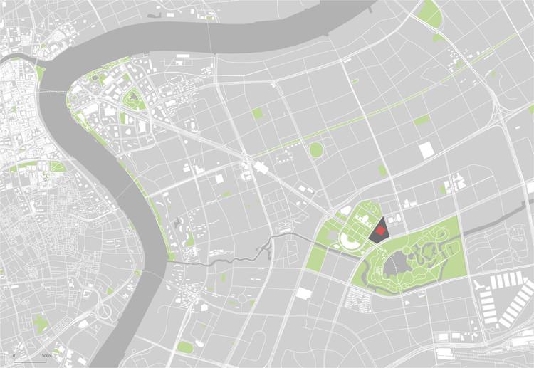 Site Plan. Image © Schmidt Hammer Lassen Architects