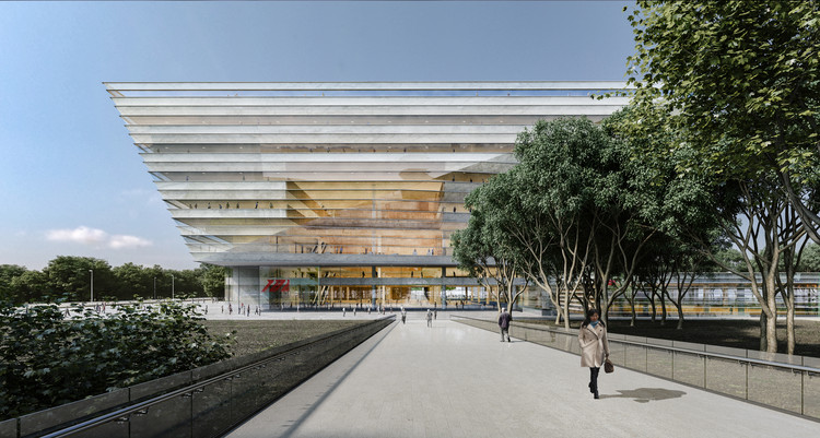 Schmidt Hammer Lassen Design New Shanghai Library, © Schmidt Hammer Lassen Architects