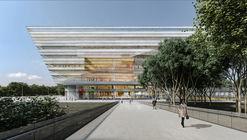 Schmidt Hammer Lassen diseña nueva biblioteca en Shanghai
